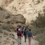 Impressie 'Wandelen in Israël',  april 2016